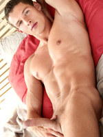 As a balance for last week`s ultra twinky Justin Saradon, this week we have another new guy that you will be seeing quite a bit more of in the future, Jon Kael.  Jon is a very athletic young Czech guy who recently joined the BelAmi team.  Handsome, muscled, toned and sexy, we feel he makes a great addition to the crew.  What do you think?