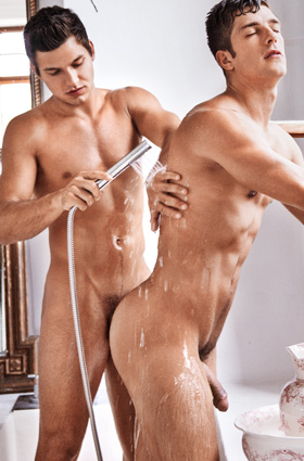 Ariel Vanean and Marc Ruffalo are in front of the camera today in another Summer Break art collection. Photographer Rick Day starts us off in the shower with this sexy pair before taking them off separately for some solo pictures.