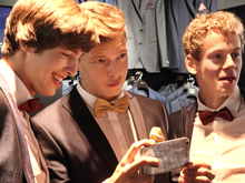Last week we showed you a few pics from our boys shopping trip to buy some suits for an upcoming award ceremony in NY.  Today, as promised, we have Joan`s video of the whole shopping excursion.  Any volunteers to take inside leg measurements?