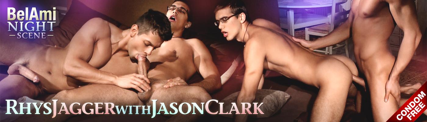 BELAMI NIGHT SCENE Rhys Jagger & Jason Clark