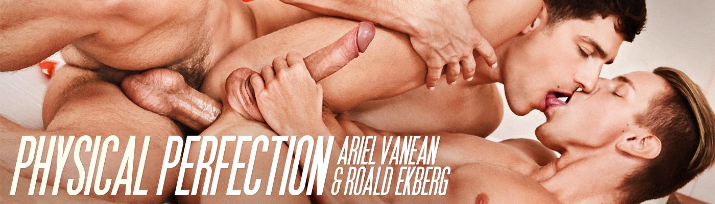 PHYSICAL PERFECTION… Ariel fucks Roald