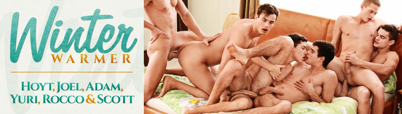 Winter warmer… Hoyt, Joel, Adam, Yuri, Rocco & Scott