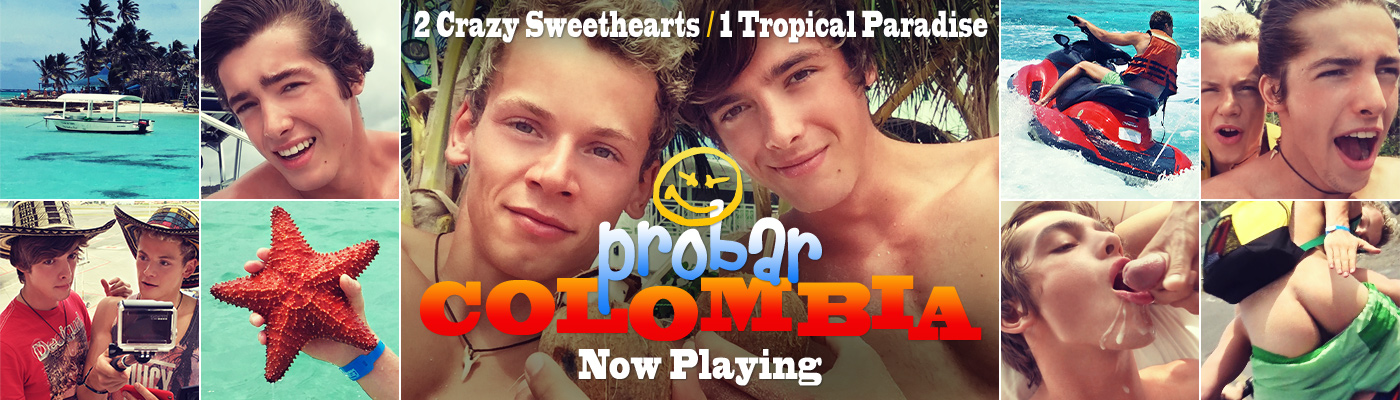 PROBAR COLOMBIA… 2 Crazy Sweethearts, 1 Tropical Paradise
