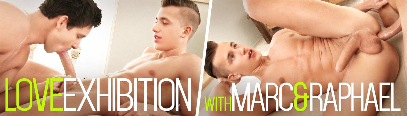 Love exhibition... with Marc Ruffalo & Raphael Nyon