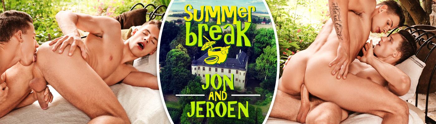 SUMMER BREAK… Jeroen Mondrian & Jon Kael