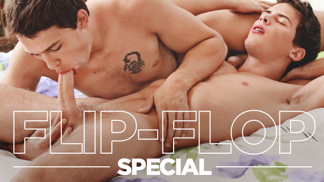 FLIP-FLOP SPECIAL with TIM and BILLY