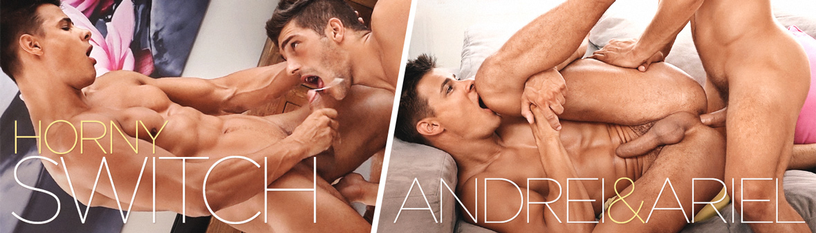 HORNY SWITCH with ANDREI & ARIEL