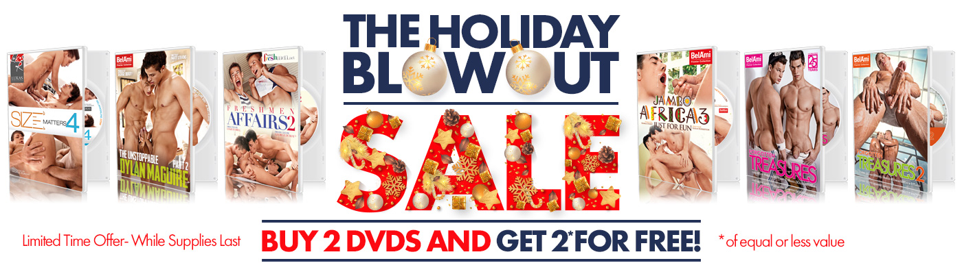 THE HOLIDAY BLOWOUT SALE • 2+2