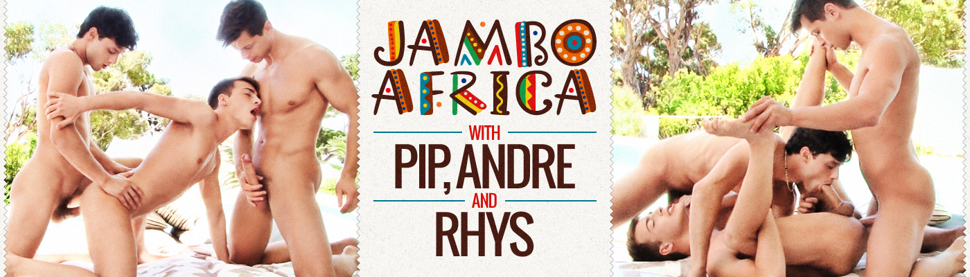 Jambo Africa: Andre with Rhys & Pip